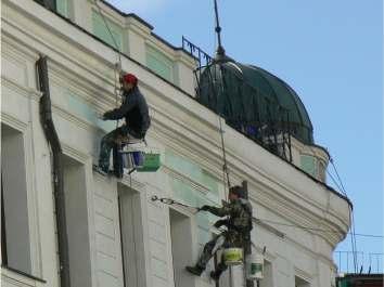 Ремонт и реставрация фасадов зданий в Одессе