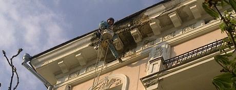 Ремонт и реставрация фасадов в Одессе