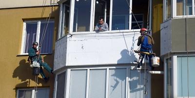 Утепление балкона в Одессе